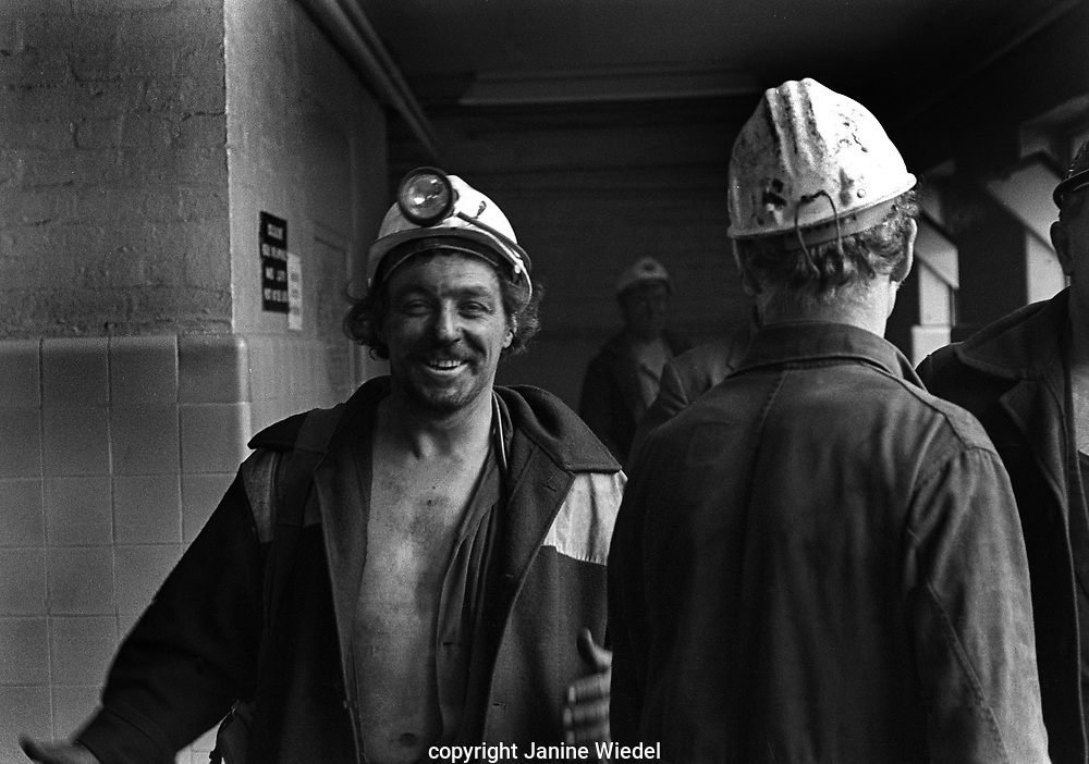 Florence Colliery outside Stoke-on-Trent North Staffordshire, The West Midlands England 1977