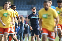 Shrewsbury Town players warm up - Mandatory by-line: Arron Gent/JMP - 30/03/2019 - FOOTBALL - Roots Hall - Southend-on-Sea, England - Southend United v Shrewsbury Town - Sky Bet League One