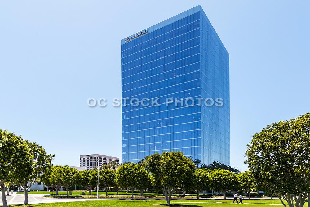 Mazda Glass Building In Irvine Business Center