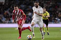 January 24, 2019 - Madrid, Spain - Real Madrid's Karim Benzema during Copa del Rey match between Real Madrid and Girona FC at Santiago Bernabeu. (Credit Image: © Legan P. Mace/SOPA Images via ZUMA Wire)