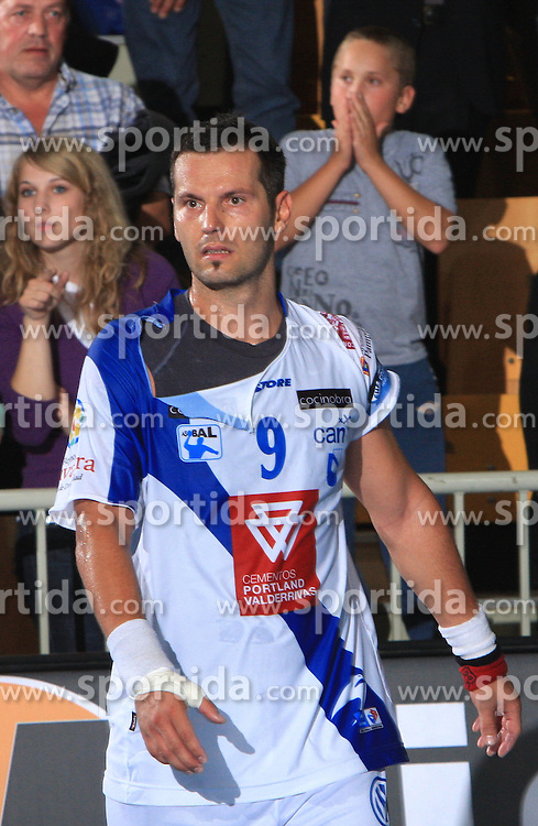 Renato Vugrinec at E group of EHF Champions League Men 2008/2009 between RK Cimos Koper (SLO) and Portland San Antonio (ESP), on October 18, 2008,  in Bonifika Hall, Koper, Slovenia. (Photo by Vid Ponikvar / Sportida)
