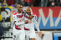 Fotball<br /> Frankrike<br /> Foto: Panoramic/Digitalsport<br /> NORWAY ONLY<br /> <br /> joie Diego Rolan - Thomas Toure (Bordeaux)