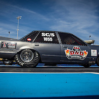 Danny Costello (1055) in the D&D Racing Supercharged Outlaw VL Commodore.