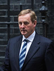 Downing Street, London July 26th 2016. Irish Taoiseach Enda Kenny is the first foreign leader to arrive in Downing Street since Theresa May became Prime Minister for talks centred around economic and border issues arising from Brexit. <br /> &copy;Paul Davey<br /> FOR LICENCING CONTACT: Paul Davey +44 (0) 7966 016 296 paul@pauldaveycreative.co.uk