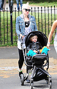 09.MAY.2011. LONDON<br /> <br /> GWEN STEFANI ON HER WAY BACK FROM THE GYM WITH HER SON IN NORTH LONDON.<br /> <br /> BYLINE: EDBIMAGEARCHIVE.COM<br /> <br /> *THIS IMAGE IS STRICTLY FOR UK NEWSPAPERS AND MAGAZINES ONLY*<br /> *FOR WORLD WIDE SALES AND WEB USE PLEASE CONTACT EDBIMAGEARCHIVE - 0208 954 5968*