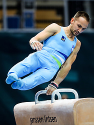 Saso Bertoncelj of Slovenia at Pommel Horse during Qualifications of Artistic Gymnastics FIG World Challenge Koper 2018, on May 31, 2017 in Arena Bonifika, Koper, Slovenia. Photo by Matic Klansek Velej/ Sportida