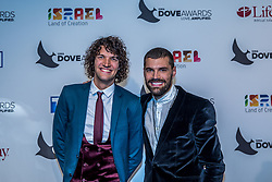 October 11, 2016 - Nashville, Tennessee, USA - Joel and Luke Smallbone from for KING & USA at the 47th Annual GMA Dove Awards  in Nashville, TN at Allen Arena on the campus of Lipscomb University.  The GMA Dove Awards is an awards show produced by the Gospel Music Association. (Credit Image: © Jason Walle via ZUMA Wire)
