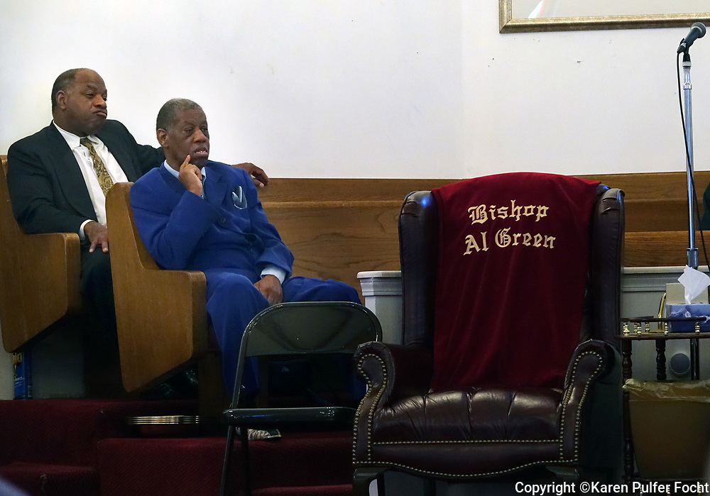 Soul Singer  Rev. Al Green has a church in South Memphis. He is missing his services with more frequency.