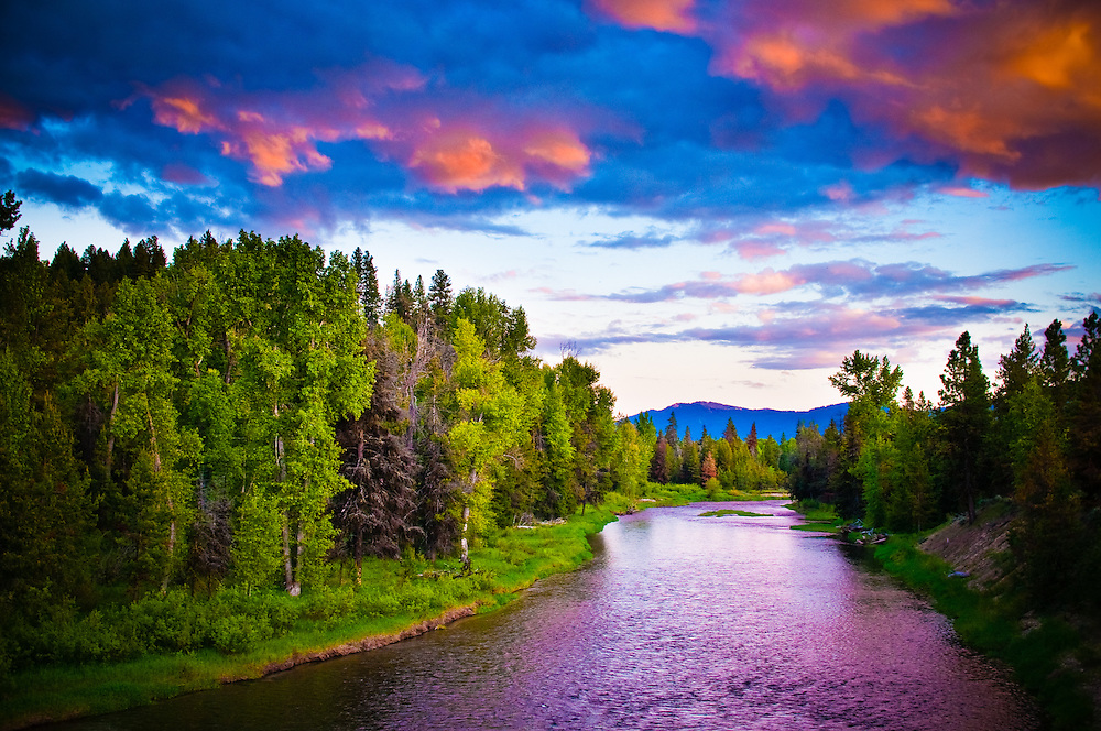 North Fork Payette River near McCall, Idaho.