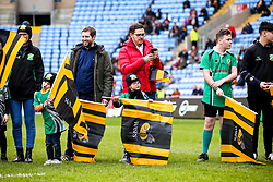 Wasps flag bearers - Mandatory by-line: Robbie Stephenson/JMP - 07/03/2020 - RUGBY - Ricoh Arena - Coventry, England - Wasps v Gloucester Rugby - Gallagher Premiership Rugby