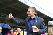 Wycombe Wanderers Manager Gareth Ainsworth prior the Sky Bet League 2 match between Wycombe Wanderers and AFC Wimbledon at Adams Park, High Wycombe, England on 2 April 2016. Photo by Stuart Butcher.