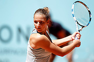 Carolina Pliskova during the Madrid Open at Manzanares Park Tennis Centre, Madrid<br /> Picture by EXPA Pictures/Focus Images Ltd 07814482222<br /> 02/05/2016<br /> ***UK &amp; IRELAND ONLY***<br /> EXPA-ESP-160502-0085.jpg