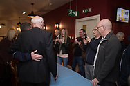 Fans wait to get pictures with Alan Gilzean - Dundee FC night of champions at the Whitehall Theatre, Dundee, Photo: David Young<br /> <br />  - &copy; David Young - www.davidyoungphoto.co.uk - email: davidyoungphoto@gmail.com