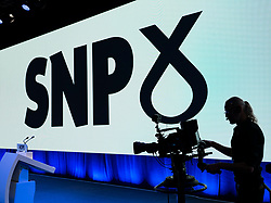 Edinburgh, Scotland, UK. 27 April, 2019. SNP ( Scottish National Party) Spring Conference takes place at the EICC ( Edinburgh International Conference Centre) in Edinburgh.