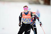 DAVOS, SCHWEIZ - 2016-12-09: Kari &Ouml;yre Slind under tr&auml;ning inf&ouml;r Viessmann FIS Cross Country World Cup den 9 december, 2016 i Davos, Schweiz. Foto: Nils Petter Nilsson/Ombrello<br /> ***BETALBILD***