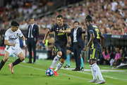 Cristiano Ronaldo of Juventus FC during the UEFA Champions League, Group H football match between Valencia CF and Juventus FC on September 19, 2018 at Mestalla stadium in Valencia, Spain