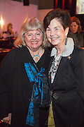 Jeanne Nathan and Mignon Faget at Arts Council of New Orleans' Community Arts Awards at Mardi Gras World on December 3, 2014