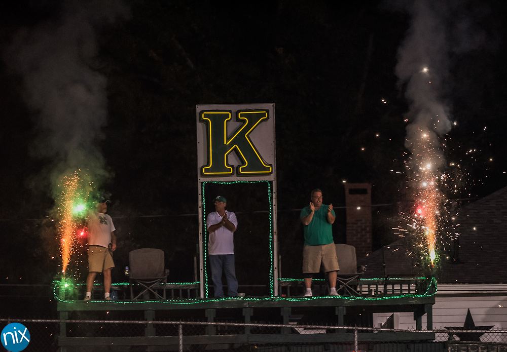 Kannapolis against Concord in the annual Battle for the Bell game. Kannapolis won 14-12.