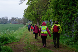 Lincolnshire Co-op health walk taking place in Caythorpe.  The Lincolnshire Co-op have taken over the management of a health walk network in Lincolnshire.<br /> <br /> Picture: Chris Vaughan Photography for Lincolnshire Co-op<br /> Date: April 27, 2017