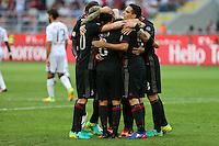 Milano - 21.08.16 - Serie A 1a giornata  -  MILAN-TORINO   - nella foto: L'esultanza dei giocatori del Milan