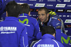 November 14, 2017 - Cheste, Spain - Valentino Rossi (Movistar Yamaha MotoGP)  during Motogp test day at Valencia circuit  (Credit Image: © Gaetano Piazzolla/Pacific Press via ZUMA Wire)