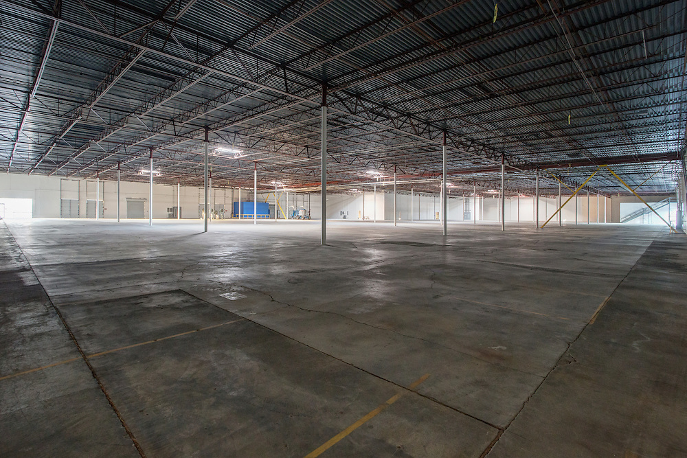 Commercial Real Estate photography interior, warehouse, Chandler, AZ