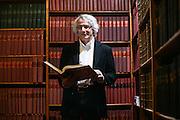 Portrait de M. Bernasconi, president du centre d'etude universitaire de Bourg et de l'Ain CEUBA // Portrait of M. Bernasconi, the president of the center of university studies of Bourg en Bresse and l'Ain, France.
