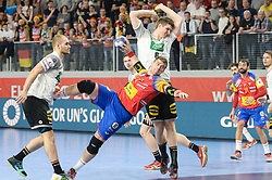 Aguinagalde Julen of Spain during handball match between National teams of Germany and Spain on Day 7 in Main Round of Men's EHF EURO 2018, on January 24, 2018 in Arena Varazdin, Varazdin, Croatia. Photo by Mario Horvat / Sportida