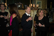HARRIET HARPER AND NIC ROEG, Pre Bafta dinner hosted by Charles Finch and Chanel. Mark's Club. Charles St. London. 9 February 2008.  *** Local Caption *** -DO NOT ARCHIVE-© Copyright Photograph by Dafydd Jones. 248 Clapham Rd. London SW9 0PZ. Tel 0207 820 0771. www.dafjones.com.