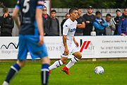 Leeds United Kun Temenuzhkov (15) in action during the Pre-Season Friendly match between Tadcaster Albion and Leeds United at i2i Stadium, Tadcaster, United Kingdom on 17 July 2019.