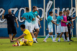 Players of Slovenia after football match between Slovenia and Kazahstan in Qualifying round for European Under-21 Championship 2019, on September 11, 2018 in Mestni Stadium Ptuj, Slovenija, 2018. Photo Grega Valancic