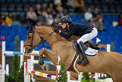 Junqueira Muylaert Pedro, BRA, Chacote<br /> Stuttgart - German Masters 2018<br /> © Hippo Foto - Stefan Lafrentz