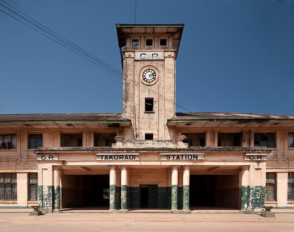 Old Takoradi Train Station, Ghana 2011.