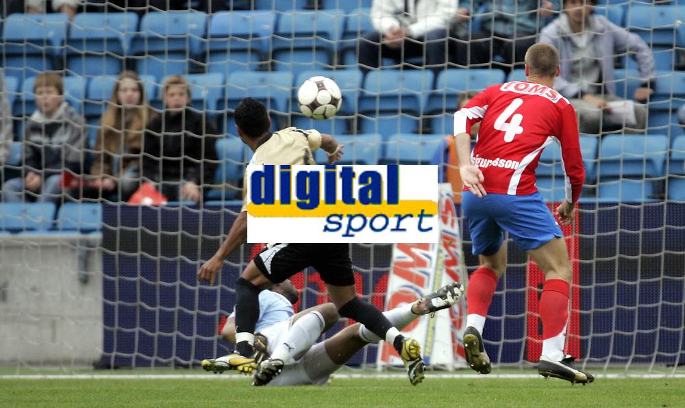 Fotball<br /> Tippeligaen Eliteserien<br /> 16.05.08<br /> Ullevaal Stadion<br /> FC Lyn Oslo - Stab&aelig;k<br /> Alanzinho (25) scorer - men annullert for hands<br /> Foto - Kasper Wikestad