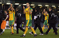 Photo: Paul Thomas.<br /> Burnley v Norwich City. Coca Cola Championship. 23/10/2007.<br /> <br /> Dejected captain Jason Shackell of Norwich after the game.