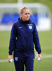 England Women assistant manager Gemma Grainger during the training session at St George's Park, Burton. PRESS ASSOCIATION Photo. Picture date: Tuesday September 12, 2017. See PA story SOCCER England Women. Photo credit should read: Mike Egerton/PA Wire. RESTRICTIONS: Use subject to FA restrictions. Editorial use only. Commercial use only with prior written consent of the FA. No editing except cropping.