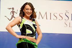 Anina Peric during event Miss Sports of Slovenia 2013, on April 20, 2013, in Festivalna dvorana, Ljubljana, Slovenia. (Photo by Urban Urbanc / Sportida.com)