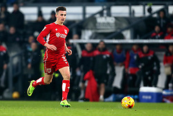 Joe Bryan of Bristol City runs with the ball - Mandatory by-line: Robbie Stephenson/JMP - 11/02/2017 - FOOTBALL - iPro Stadium - Derby, England - Derby County v Bristol City - Sky Bet Championship
