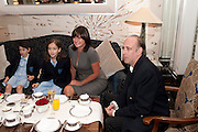 AVA JONES; STELLA JONES; MIRANDA DAVIES;  MICK JONES,  Stephen Webster hosted  the Stephen Webster Bijoux Tea.  Launching the  tea  inspired by Stephen&Otilde;s most recent fine jewellery collection &Ocirc;Murder She Wrote&Otilde; whichwas also on display. Langham Hotel. Portland Place. London. 14 September 2011. <br /> <br />  , -DO NOT ARCHIVE-&copy; Copyright Photograph by Dafydd Jones. 248 Clapham Rd. London SW9 0PZ. Tel 0207 820 0771. www.dafjones.com.<br /> AVA JONES; STELLA JONES; MIRANDA DAVIES;  MICK JONES,  Stephen Webster hosted  the Stephen Webster Bijoux Tea.  Launching the  tea  inspired by Stephen&rsquo;s most recent fine jewellery collection &lsquo;Murder She Wrote&rsquo; whichwas also on display. Langham Hotel. Portland Place. London. 14 September 2011. <br /> <br />  , -DO NOT ARCHIVE-&copy; Copyright Photograph by Dafydd Jones. 248 Clapham Rd. London SW9 0PZ. Tel 0207 820 0771. www.dafjones.com.