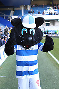 Queens Park Rangers mascot, Jude The Cat before the EFL Sky Bet Championship match between Queens Park Rangers and Bolton Wanderers at the Loftus Road Stadium, London, England on 17 February 2018. Picture by Toyin Oshodi.