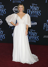 'Mary Poppins Returns' World Premiere - Red Carpet 11-29-2018