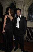 NATALYA MANOUKIAQN AND KAZ ALZARKA. Andy and P{atti Wong host  party to cleebrate then Chinese New Year of the Dog. Royal Courts of Justice. Strand. London. 28 January 2006. © Copyright Photograph by Dafydd Jones 66 Stockwell Park Rd. London SW9 0DA Tel 020 7733 0108 www.dafjones.com