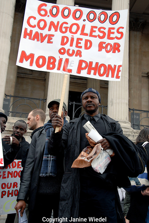 Stop the War demonstration 15 March 2008.Freedom for Iraq & Palistine & Afganistan..
