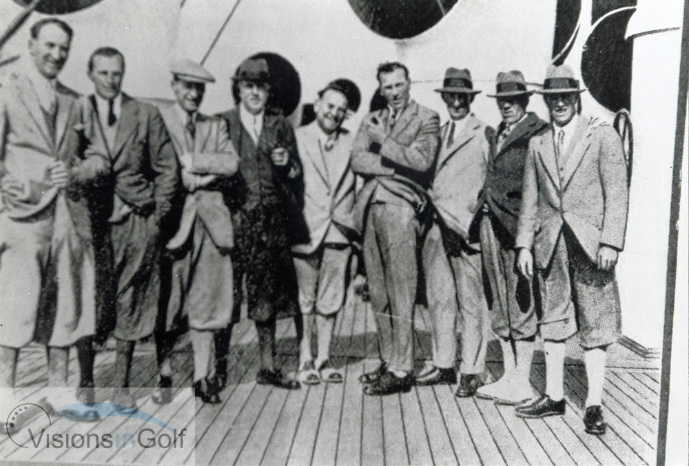 Great Britain &amp; Ireland Ryder Cup Team 1927<br /> <br /> Picture Credit: &copy;Visions In Golf