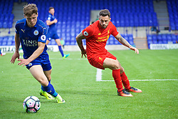 BIRKENHEAD, ENGLAND - Sunday, September 11, 2016: Liverpool's Danny Ings in action against Leicester City during the FA Premier League 2 Under-23 match at Prenton Park. (Pic by Concepcion Valadez/Propaganda)