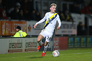 Mark Sykes of Oxford United (18) during the EFL Sky Bet League 1 match between Burton Albion and Oxford United at the Pirelli Stadium, Burton upon Trent, England on 11 February 2020.