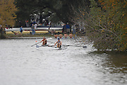 Boston, USA, Scullers racing during the Head of the Charles, Race Charles River,  Cambridge,  Massachusetts. Saturday  20/10/2007  [Mandatory Credit Peter Spurrier/Intersport Images]..... , Rowing Course; Charles River. Boston. USA
