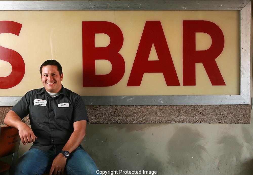 Bob's Bar mixologist Nate Gold.(Jodi Miller/Alive)