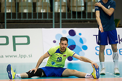 Dane Mijatovic of Slovenia during volleyball match between national teams of Slovenia and Turkey of 2018 CEV volleyball Godlen European League, on May 27, 2018 in Sports hall Tabor, Maribor, Slovenia. Photo by Urban Urbanc / Sportida