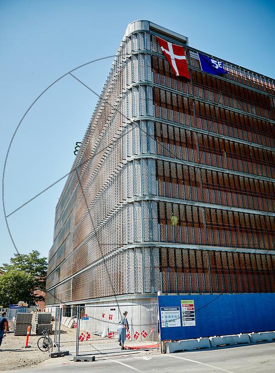 P-hus rejsegilde, parkeringshusrejsegilde, Bispebjerg Hospital , facade, eksteriør